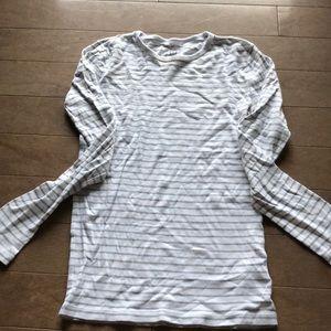 Long sleeved striped tee